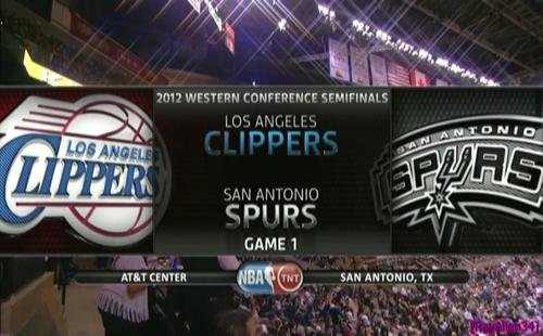 NBA Playoffs 2012 / West / Semifinals / Game 4 / 20.05.2012 / San Antonio Spurs vs Los Angeles Clippers