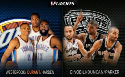 NBA Playoffs 2012 / West / Final / Game 3 / 31.05.2012 / San Antonio Spurs - Oklahoma City Thunder